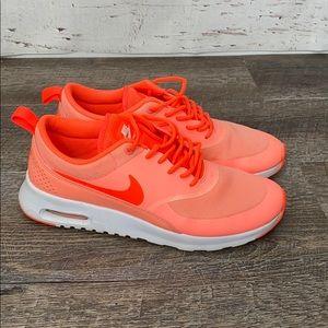 Nike Women's Air Max Thea NEON orange 8